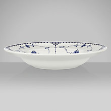 Buy Johnson Brothers Blue Denmark Soup Plate, Dia.22cm Online at johnlewis.com