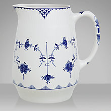 Buy Johnson Brothers Blue Denmark Jug, 0.8L Online at johnlewis.com