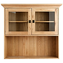 Buy John Lewis Honesty FSC Small 2 Door Sideboard Dresser Top Online at johnlewis.com