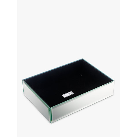 Buy stackers glass jewellery box 1 section john lewis for Stackers jewelry box canada