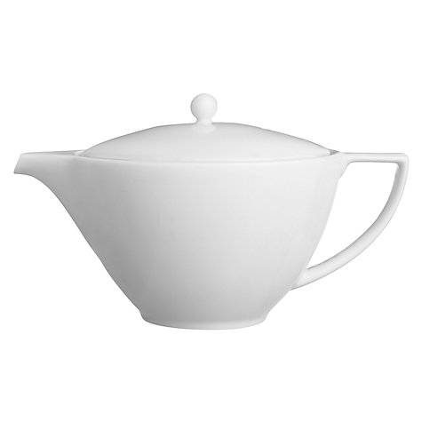 Buy Jasper Conran for Wedgwood White Small Teapot, 0.55L Online at johnlewis.com