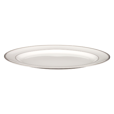 Vera Wang for Wedgwood Grosgrain Oval Dish, 39cm