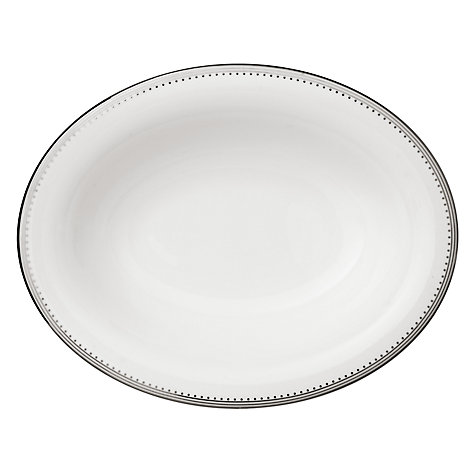 Buy Vera Wang for Wedgwood Grosgrain Open Vegetable Dish, 25cm Online at johnlewis.com