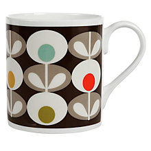 Buy Orla Kiely Oval Mug Online at johnlewis.com