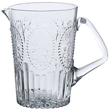 Buy John Lewis Glass Jug, 1.2L Online at johnlewis.com