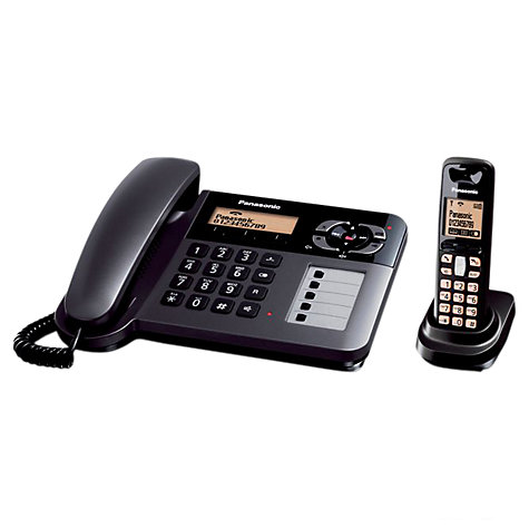 Buy Panasonic KX-TG6461ET Combo and Answering Machine, Single DECT Online at johnlewis.com
