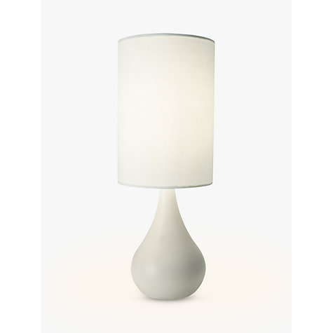 Buy John Lewis Kristy Touch Lamp, White Online at johnlewis.com