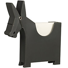 Buy Luckies Morris The Memo Holder, Grey Online at johnlewis.com