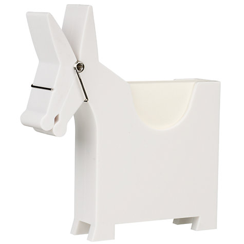 Buy Luckies Morris the Memo Holder, White Online at johnlewis.com