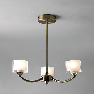 John Lewis Paige Ceiling Light, 3 Arm