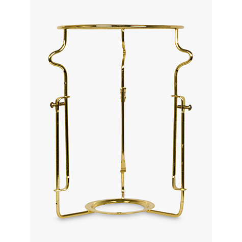 Buy Adjustable Shade Carrier, Brass, ES Fitting Online at johnlewis.com