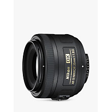 Buy Nikon DX 35mm f/1.8G AF-S Standard Lens Online at johnlewis.com