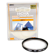 Buy Hoya UV Lens Filter, 58mm Online at johnlewis.com