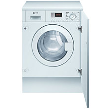 Buy Neff V6320X0GB Integrated Washer Dryer Online at johnlewis.com