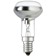 Buy Philips 20W ES R63 Halogen Bulb, Clear Online at johnlewis.com