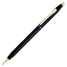 Buy Cross Century II Classic Ballpoint Pen, Black/Gold Online at johnlewis.com