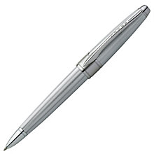Buy Cross Apogee Ballpoint Pen, Silver Online at johnlewis.com