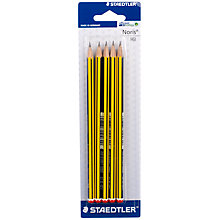 Buy Staedtler Noris HB Pencils, Pack of 5 Online at johnlewis.com