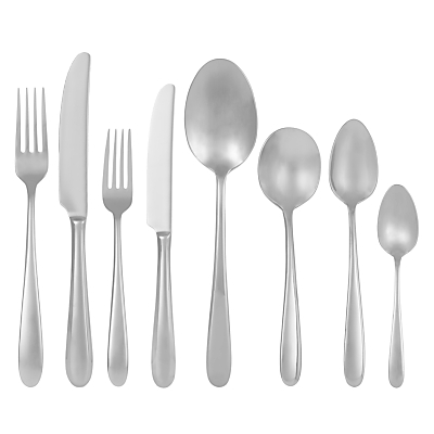 John Lewis Outline Cutlery Set, 44 Piece