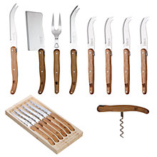 Buy Laguiole by Jean Dubost Oakwood Cutlery Online at johnlewis.com