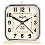 Newgate Sprint Alarm Clock, Cream