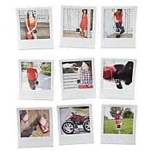 "Buy Umbra Snap Photo Frames, Multi-aperture set of 9, 3.5 x 3.5"" (9 x 9cm) Online at johnlewis.com"