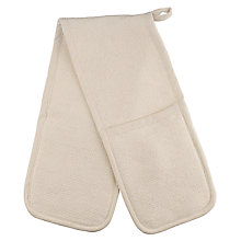 Buy John Lewis Double Oven Glove, Cream Online at johnlewis.com