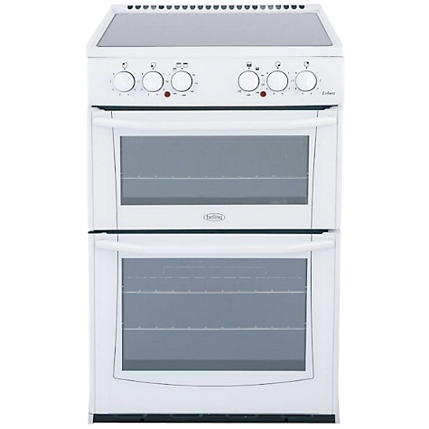 Buy Belling E552W Enfield Electric Cooker, White Online at johnlewis.com