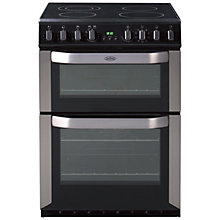 Buy Belling FSE60MF Electric Cooker, Stainless Steel Online at johnlewis.com