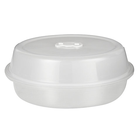 Buy John Lewis Microwave Plate Cover Online at johnlewis.com