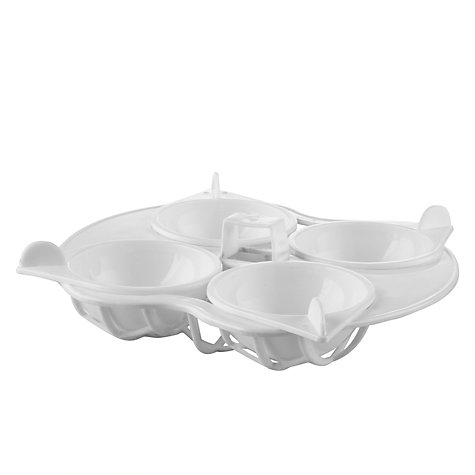 Buy John Lewis Microwave 4 Egg Poacher Online at johnlewis.com
