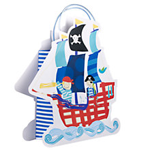 Buy Pirate Ship Gift Bag Online at johnlewis.com
