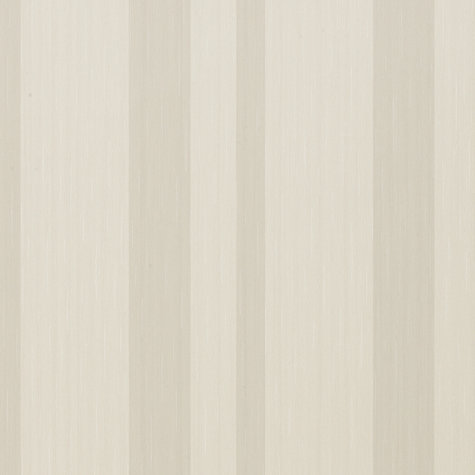Buy John Lewis Vinyl Stripe Wallpaper, Oyster Online at johnlewis.com