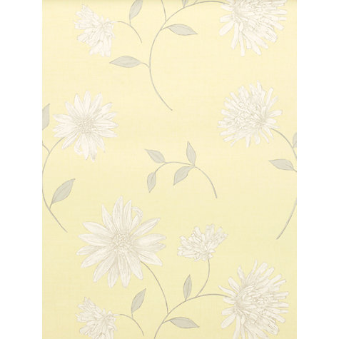 Buy John Lewis Isabelle Wallpaper, Lemontree Online at johnlewis.com