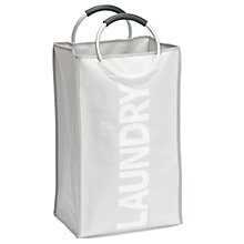 Buy Wenko Laundry Collector, Stone Online at johnlewis.com