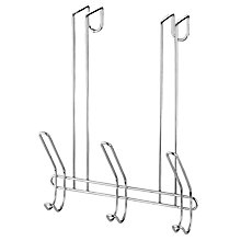 Buy John Lewis Over The Door Hook, 6 Hooks Online at johnlewis.com
