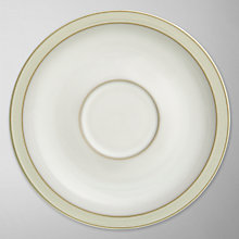 Buy Denby Linen Tea Saucer, Dia.7.25cm, Cream Online at johnlewis.com