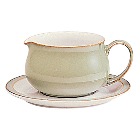 Buy Denby Linen Sauceboat Online at johnlewis.com