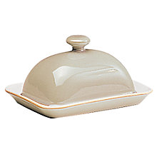 Buy Denby Linen Butter Dish Online at johnlewis.com