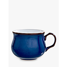 Buy Denby Imperial Tea Cup, 0.2L, Blue Online at johnlewis.com
