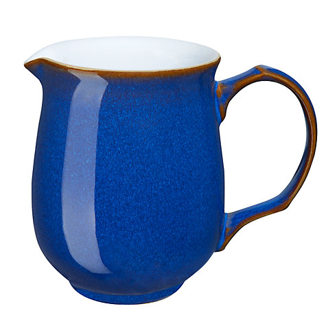 Buy Denby Imperial Blue Jug, Small Online at johnlewis.com