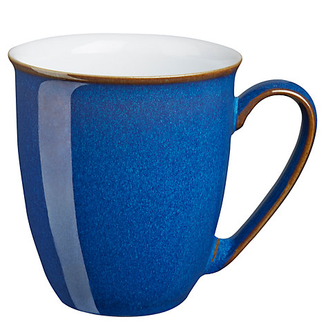 Buy Denby Imperial Blue Coffee Mug Online at johnlewis.com