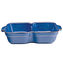 Buy Denby Imperial Blue Divided Dish, 32cm Online at johnlewis.com