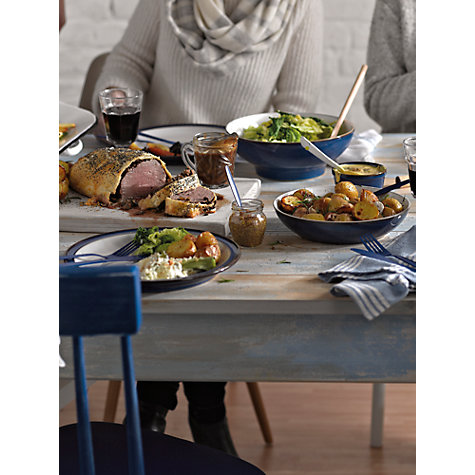 Buy Denby Imperial Blue Serving Bowl, Medium Online at johnlewis.com