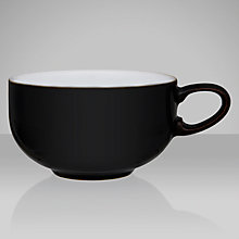 Buy Denby Jet Teacup, Black Online at johnlewis.com