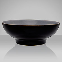 Buy Denby Jet Serving Bowl, Black, Medium Online at johnlewis.com