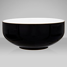 Buy Denby Jet Soup/Cereal Bowl, Black, Dia.15.5cm Online at johnlewis.com