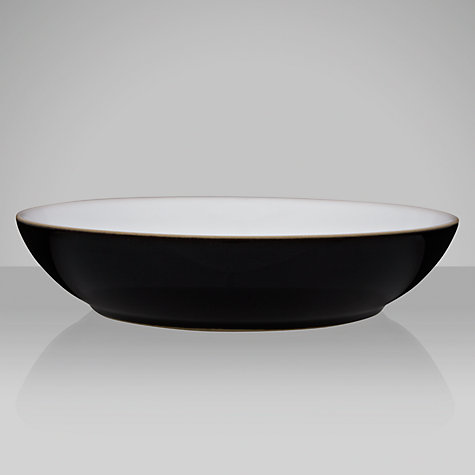 Buy Denby Jet Pasta Bowl, Black, Dia.21.5cm Online at johnlewis.com