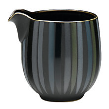 Buy Denby Jet Stripes Jug, Small, Black Online at johnlewis.com