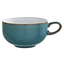 Buy Denby Azure Tea/ Coffee Cup & Saucer Online at johnlewis.com
